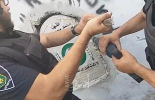"""نتنياهو يأمر بإزالة النصب التذكاري للشهيد عبيد"""" في القدس (صور)"""