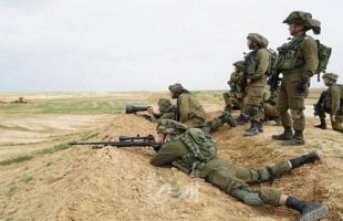 غزة: قناصة الاحتلال تطلق النار  صوب عدد من الشبان مقابل مخيم العودة شرق خزاعة