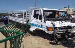 إصابات بحادث مروري جنوب قطاع غزة