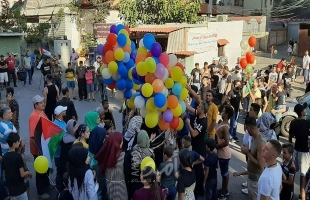انتفاضة البالونات تعم مخيمات لبنان رفضا لقرار وزير العمل ضد الفلسطينيين