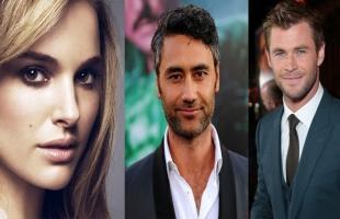 """""""ثلاثة من أهم نجوم هوليوود"""" أبطال فيلم """"Thor: Love and Thunder"""