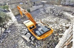 جيش الاحتلال يخطر بهدم 13 منزلاً مأهولاً في سلوان