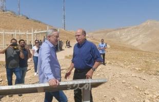 """غانتس: """"وادي الأردن"""" سيكون جزءًا من إسرائيل في أي تسوية مستقبلية مع الفلسطينيين"""