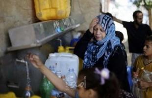 الكارثة مستمرة وقد تصل 100%...مياه الشرب في قطاع غزة ملوثة وتحذيرات من تفاقم المشكلة