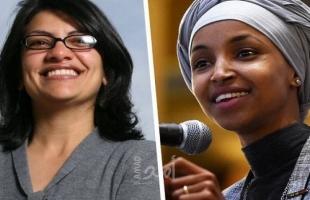 إسرائيل تمنع النائبين في الكونغرس الأمريكي عمر  وطليب من دخول الأراضي الفلسطينية