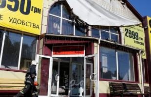 مقتل 8 أشخاص في حريق فندق بأوكرانيا