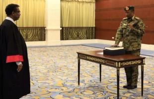 السودان: البرهان وأعضاء مجلس السيادة يؤدون القسم