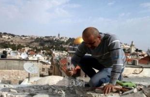 سلطات الاحتلال ترغم عائلة على هدم منزلها في القدس