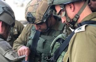 قوات الاحتلال تخطر بوقف البناء في مدرسة جنوب غرب الخليل