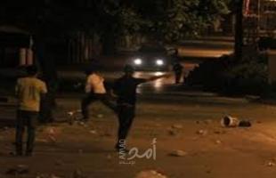 إصابة شاب بقنبلة غاز في الرقبة خلال مواجهات مع جيش الاحتلال في عزون شرق قلقيلية