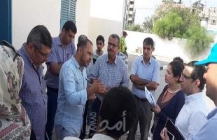 بلدية غزة تطلع وفداً دولياً على مشروع الطاقة البديلة لتغذية المرافق الحيوية