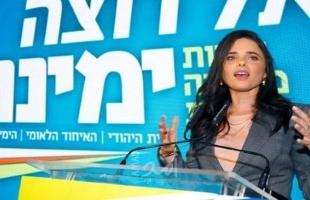 شاكيد: سياسة الجيش الإسرائيلي ضد غزة تغيّرت منذ وصول بينت