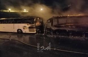 احتراق حافلة في بيت لحم والشرطة تحقق