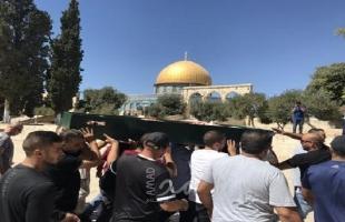 تشييع جثمان رجل الإصلاح مازن أبو ذياب في القدس
