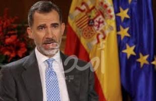 للمرة الرابعة ملك إسبانيا يحل البرلمان  ويعلن الانتخابات 10 نوفمبر