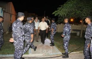 بعد التوترات الأخيرة.. مسئول أمن حماس يتفقد الحواجز والنقاط الأمنية - صور