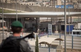 """حكومة الاحتلال تعلن البدء بإجراء فحوصات """"كورونا"""" عند معابر الضفة الغربية"""