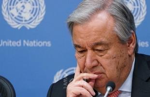 """غوتيريش: الاعتقاد بإمكانية احتواء النزاع الفلسطيني الإسرائيلي """"وهم خطير"""""""
