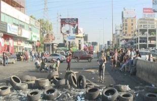 مسلحون مناصرون لحزب الله وأمل يقمعون التظاهرات في صور جنوب لبنان- فيديو