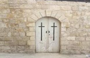 نابلس: اللجنة الرئاسية العليا لشؤون الكنائس تدشن أعمال الترميم لكنيسة موسى الحبشي