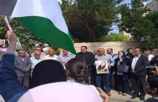جنين: وقفة تضامنية مع الأسيرة المضربة هبة اللبدي