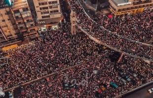 """لبنان: عودة التحركات الاحتجاجية وقطع طرق عدة في """"بيروت وصيدا والنبطية وطرابلس"""""""