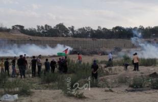 عشرات الإصابات برصاص جيش الاحتلال في مسيرات كسر الحصار شرق غزة