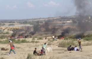 مركز حماية يندد.. خلال أكتوبر: اصابة أكثر من (300) مواطناً واستشهاد آخرين في مسيرات كسر الحصار