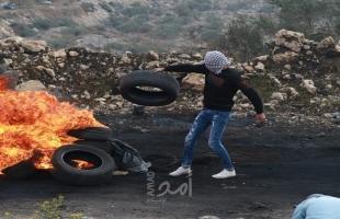 إصابة عشرة مواطنين بالاختناق خلال اعتداء جيش الاحتلال لمسيرة كفر قدوم