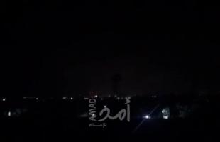 محدث- طائرات الاحتلال تشن سلسلة غارات على أهداف في قطاع غزة