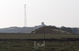 قوات الاحتلال تطلق النار تجاه الصحفيين ومطلقي البالونات شرق البريج