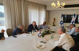 """""""أزرق أبيض"""" يعلن استعداده لفرض السيادة الإسرائيلية على غور الأردن والضفة"""