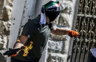 """شبان يستهدفون """"مستوطنة"""" بالزجاجات الحارقة في القدس"""