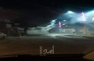 فيديو - قلقيلية: إصابة شاب في عزون بمواجهات مع جيش الاحتلال