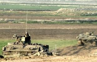 جيش الاحتلال يطلق  نار كثيف في محيط موقع كوسوفيم العسكري شرق خانيونس ودير البلح