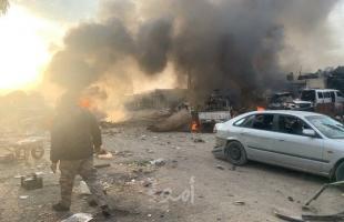 سانا: مقتل عدد من الجنود الأتراك ومسلحين موالين لأنقرة بانفجار سيارة مفخخة في ريف الرقة