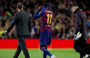 برشلونة يرفض اليأس في المفاوضات مع ديمبلي