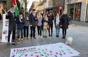 اتحاد الجاليات في أوروبا ينظم مجموعة واسعة من الأنشطة تضامناً مع الشعب الفلسطيني