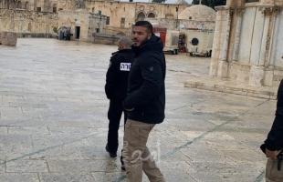 """شرطة الاحتلال تعتقل حارس """"المسجد الأقصى"""" فادي عليان"""