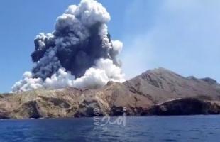 فرق الإنقاذ تفشل باستعادة جثتين في بركان نيوزيلندا