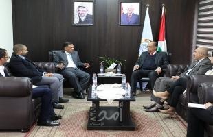 رام الله: وزير العدل يبحث مع القائم بأعمال السفارة العُمانية دعم قطاع العدالة