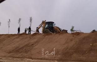"""إعلام عبري: الجيش الإسرائيلي زرع عشرات الأشجار لإخفاء طريق قرب  """"إيرز"""""""