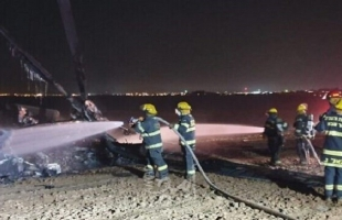 """الجيش الإسرائيلي يجمد عمل طائرات """"يسعور"""" بعد حادثة اشتعال النيران في إحدى محركاتها"""