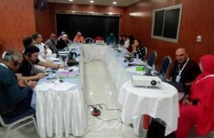 """""""الحركة العالمية في فلسطين-المكتب الإقليمي"""" تنظم ورشة في موريتانيا"""
