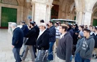 القدس: أكثر من 50 مستوطنا يقتحمون المسجد الأقصى بحماية من شرطة الاحتلال