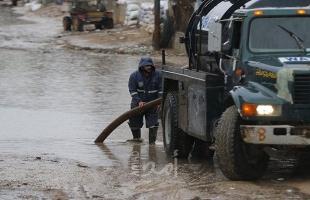 فلسطين: توقعات بتصاعد واشتداد الحالة المطرية خلال الساعات القادمة