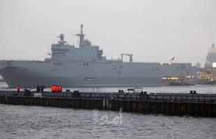 بالصور- البحرية المصرية تنفذ عملية برمائية في البحر المتوسط