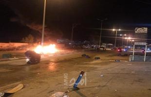 مواجهات مع جيش الاحتلال بعزون شرق قلقيلية