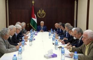 عباس يترأس اجتماعًا للجنة المركزية لحركة فتح