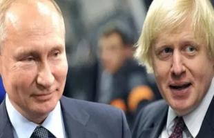 جونسون لـ بوتين: لا تطبيع للعلاقات قبل توقف روسيا عن زعزعة للاستقرار
